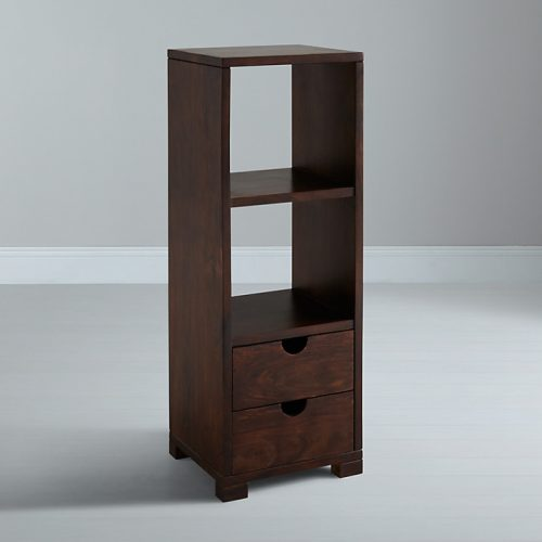 Wakeup Stowaway Single Bookcase Two Drawer